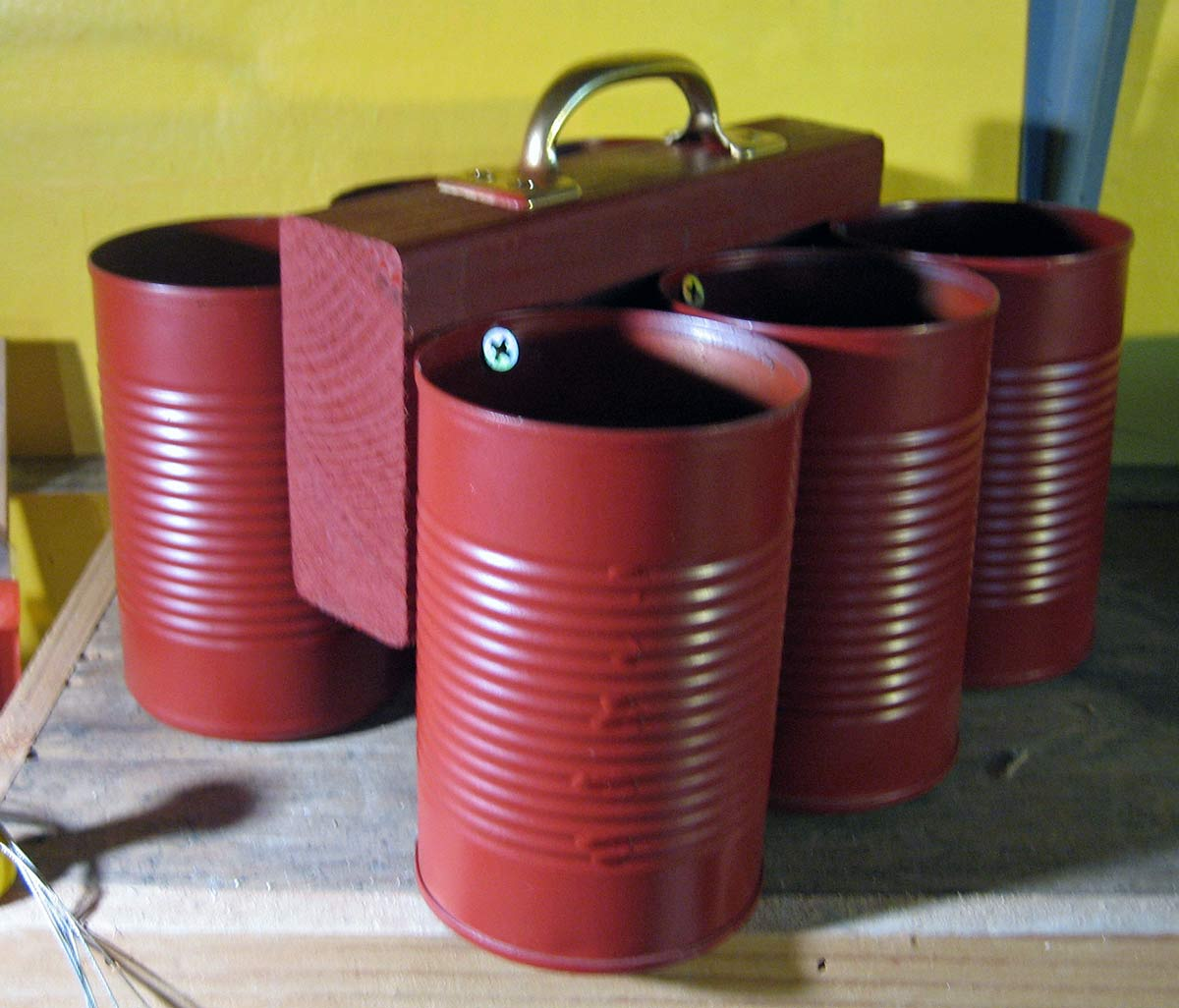 soup can tool caddy – liz crain ceramics