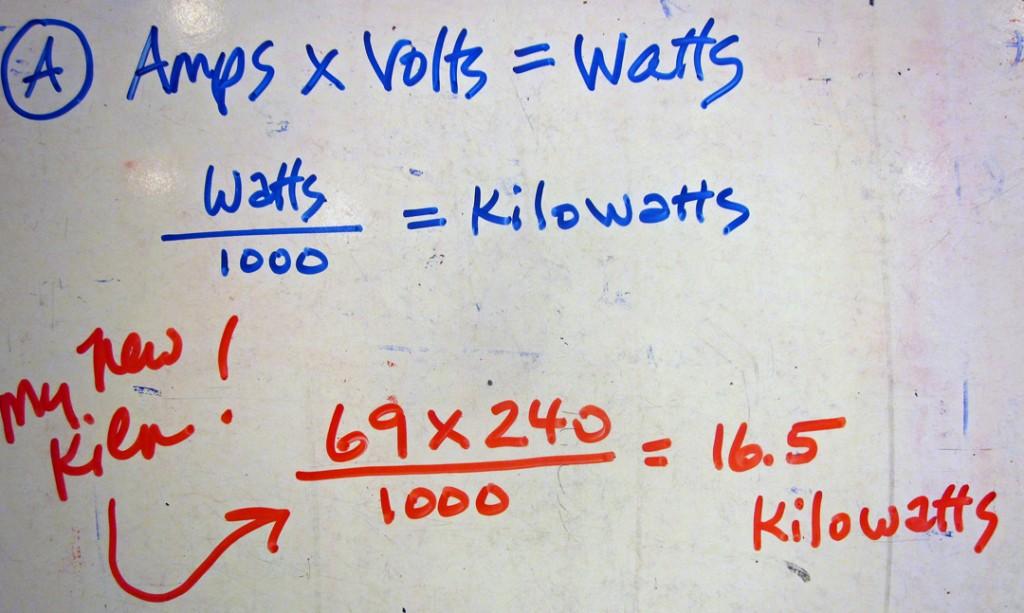 A AmpsandVoltsequalsWatts
