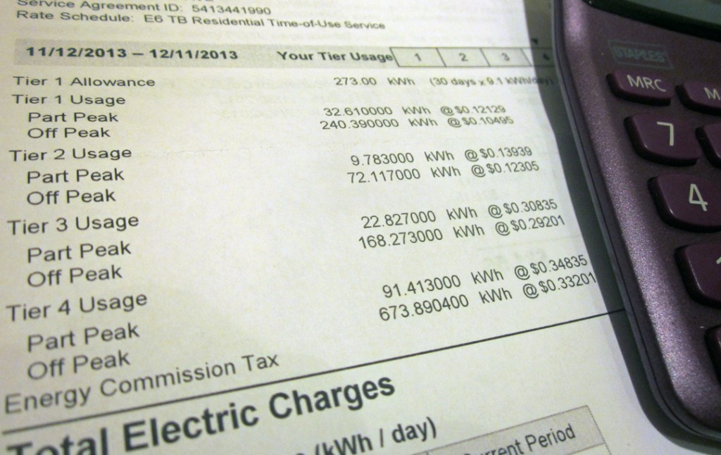 Electricbillbreakdown