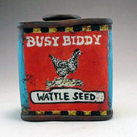 Busy Biddy Wattle Seed Spice Tin