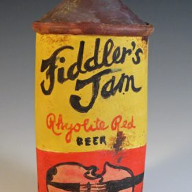Fiddlers Jam Beer Can