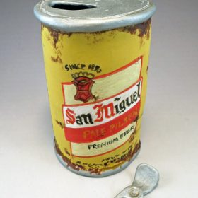 San Miguel Pop Top Beer Can