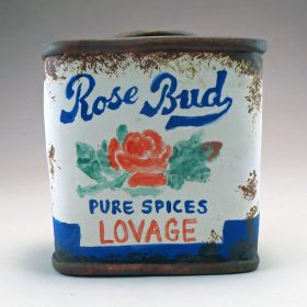Rose Bud Lovage Spice Tin