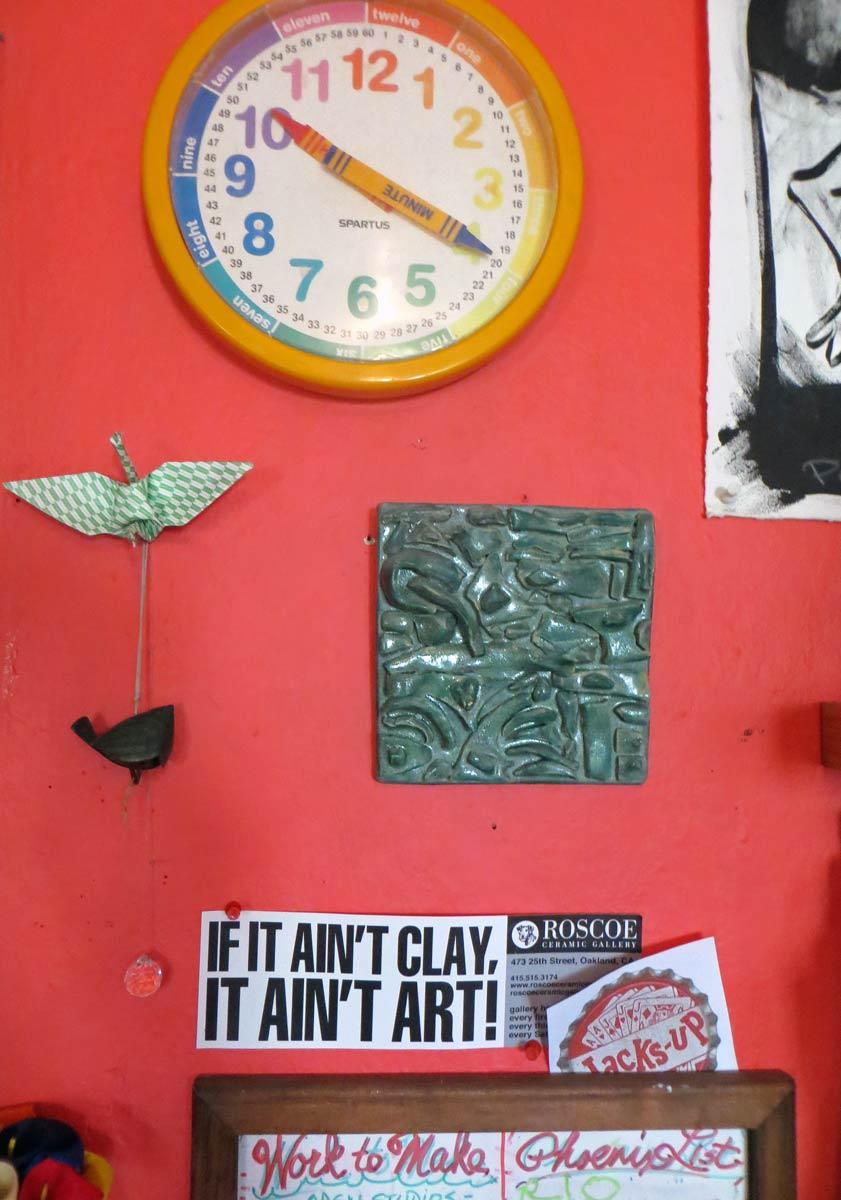 Liz Crain Ceramics East Wall Interactive
