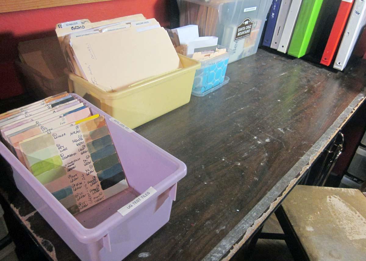 Liz Crain Ceramics Studio Reference Files
