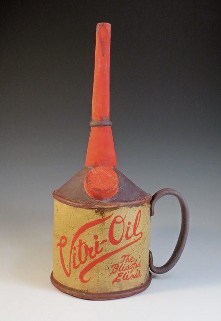 Ceramic Vitri-Oil Tea Can