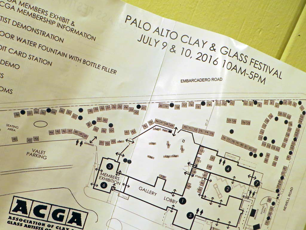 Map of 2016 ACGA Festival grounds