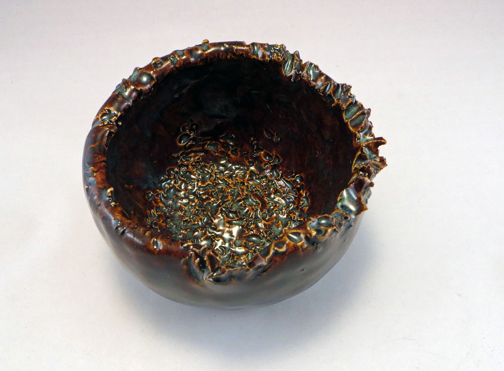 Top view of Henpecked Bowl