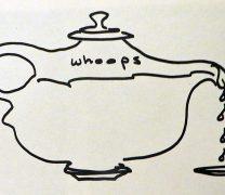 Drawing of Teapot Spout Fail