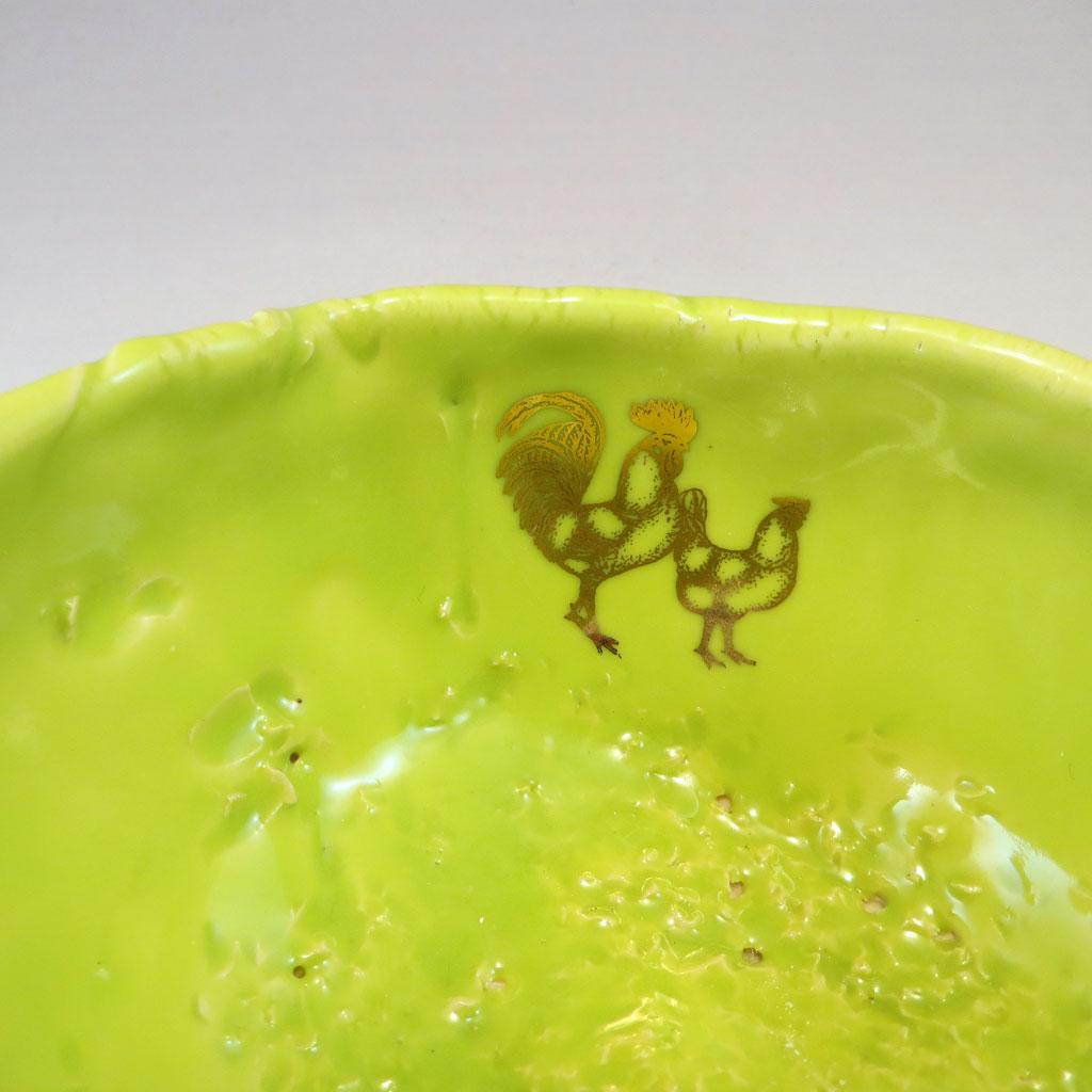 Henpecked Bowl detail