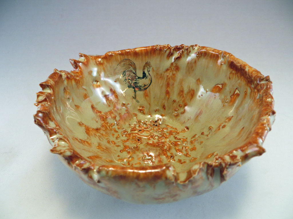 Albany Slip Henpecked bowl