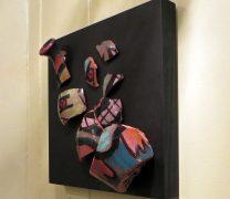 Re-Smashed Leeds Vase wallpiece