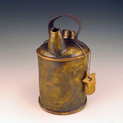 ceramic tea can