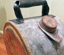 Handle ceramic drum