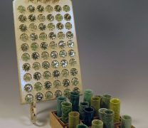 Two Ceramic Games_Toss It Off and Gear Train