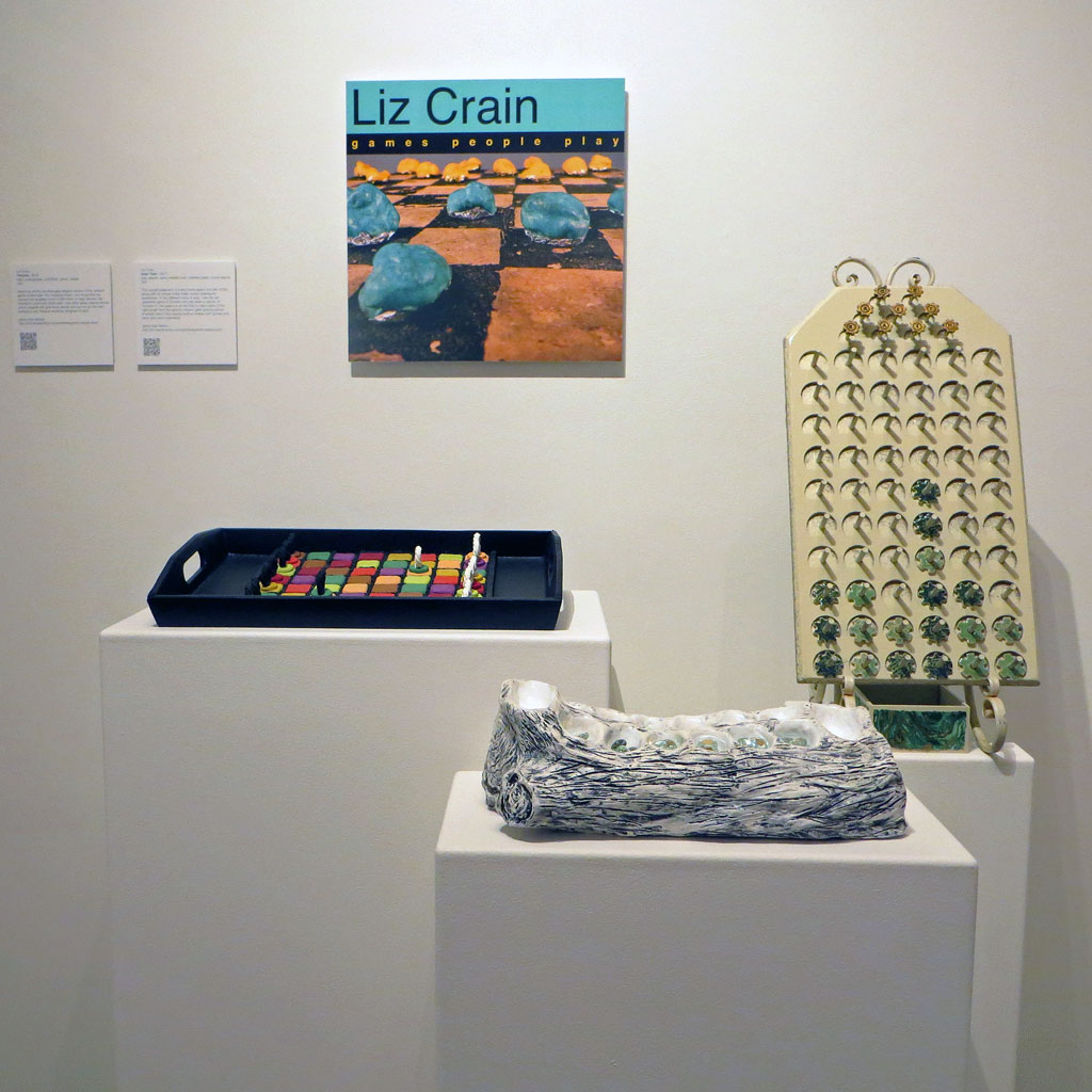 Games People Play Ceramic Exhibit
