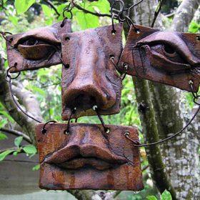 Hanging Face