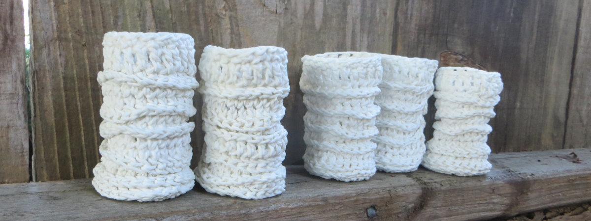 Knitted Porcelains On the Fence - Liz Crain Ceramics