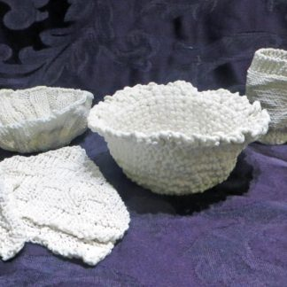 Knitted Porcelain Place setting